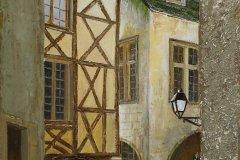 Maisons Sarladaises 27x41 cm